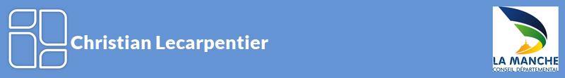 Christian Lecarpentier autoentrepreneur à BRIX