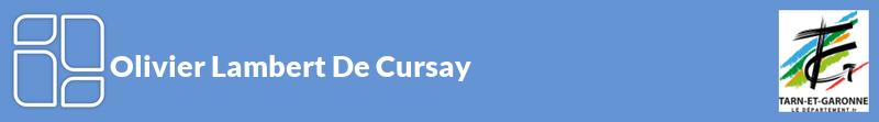Olivier Lambert De Cursay autoentrepreneur à MAS GRENIER