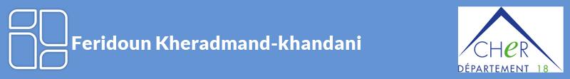 Feridoun Kheradmand-khandani autoentrepreneur à SAINT-FLORENT-SUR-CHER