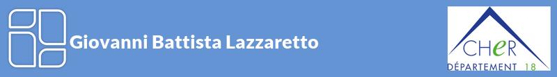 Giovanni Battista Lazzaretto autoentrepreneur à GARIGNY