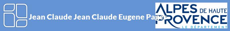 Jean Claude Jean Claude Eugene Pages autoentrepreneur à LE CAIRE