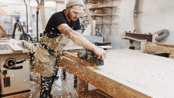 Le charpentier auto-entrepreneur