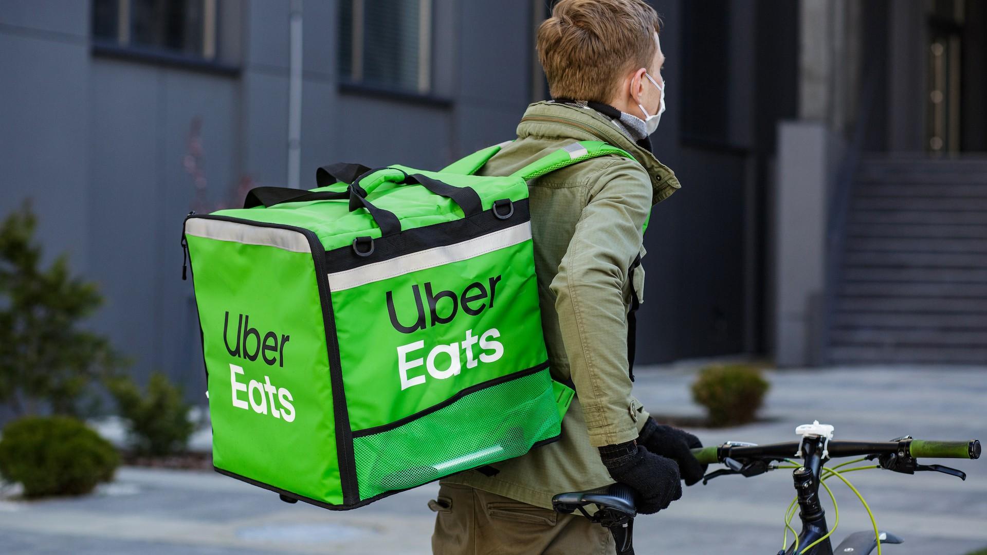 Devenir livreur Uber Eats