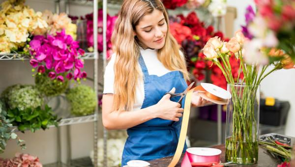 Le fleuriste auto-entrepreneur