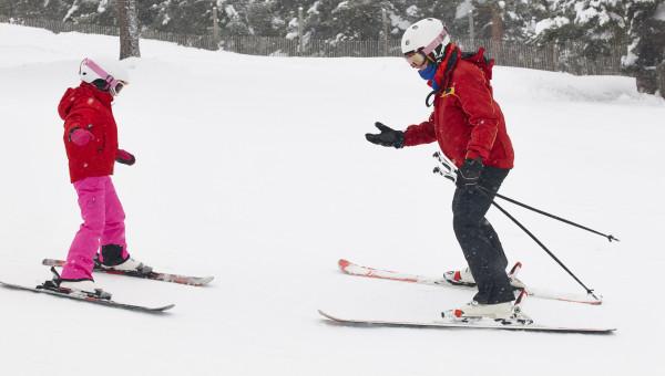 Le moniteur de ski en auto-entreprise