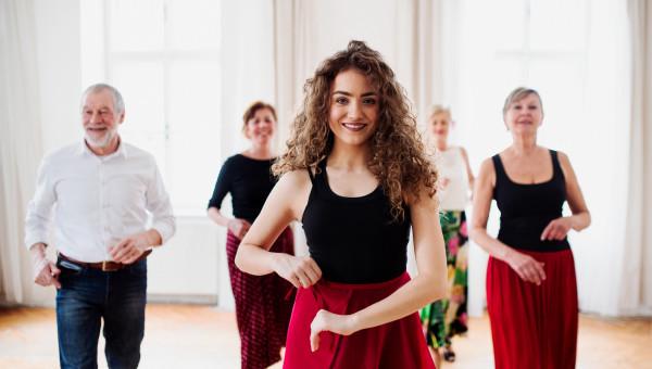 Le professeur de danse auto-entrepreneur